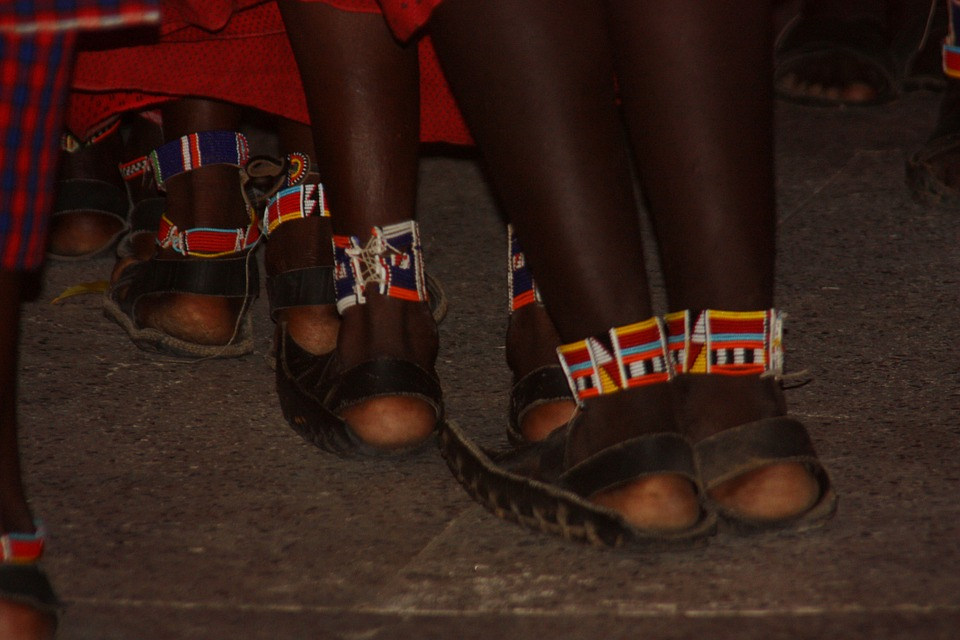 chaussures africaines